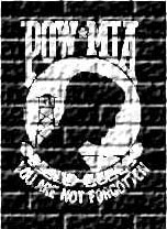 POW/MIA Brick Wall Finished